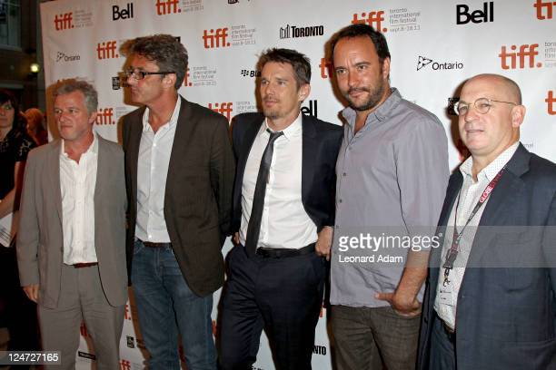 Copresident of ATO Pictures Johnathan Dorfman director Pawel Pawlikowski actor Ethan Hawke musician/actor Dave Matthews and cofounder/ CEO of ATO...