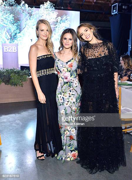 Copresident of Baby2Baby Kelly Sawyer Patricof actress Rachel Bilson and founder The Honest Company Jessica Alba attend the Fifth Annual Baby2Baby...