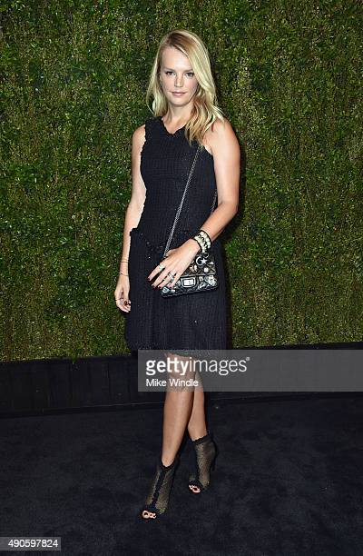 Copresident of Baby2Baby Kelly Sawyer Patricof attends CHANEL Dinner in Honor of Baby2Baby at CHANEL Boutique on September 29 2015 in Los Angeles...
