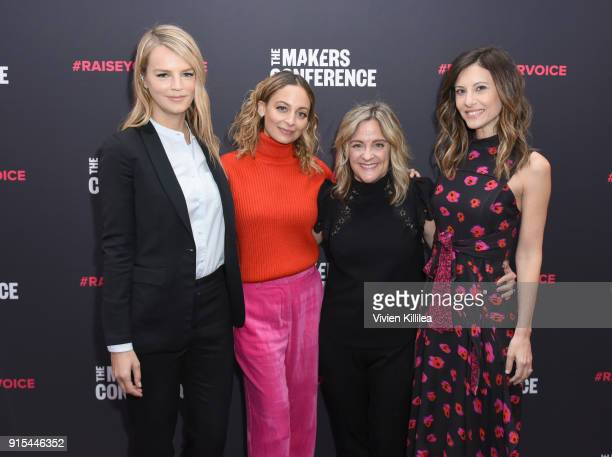 CoPresident of Baby2Baby Kelly Sawyer Patricof Nicole Richie Founder and Executive Producer MAKERS Dyllan McGee and CoPresident of Baby2Baby Norah...