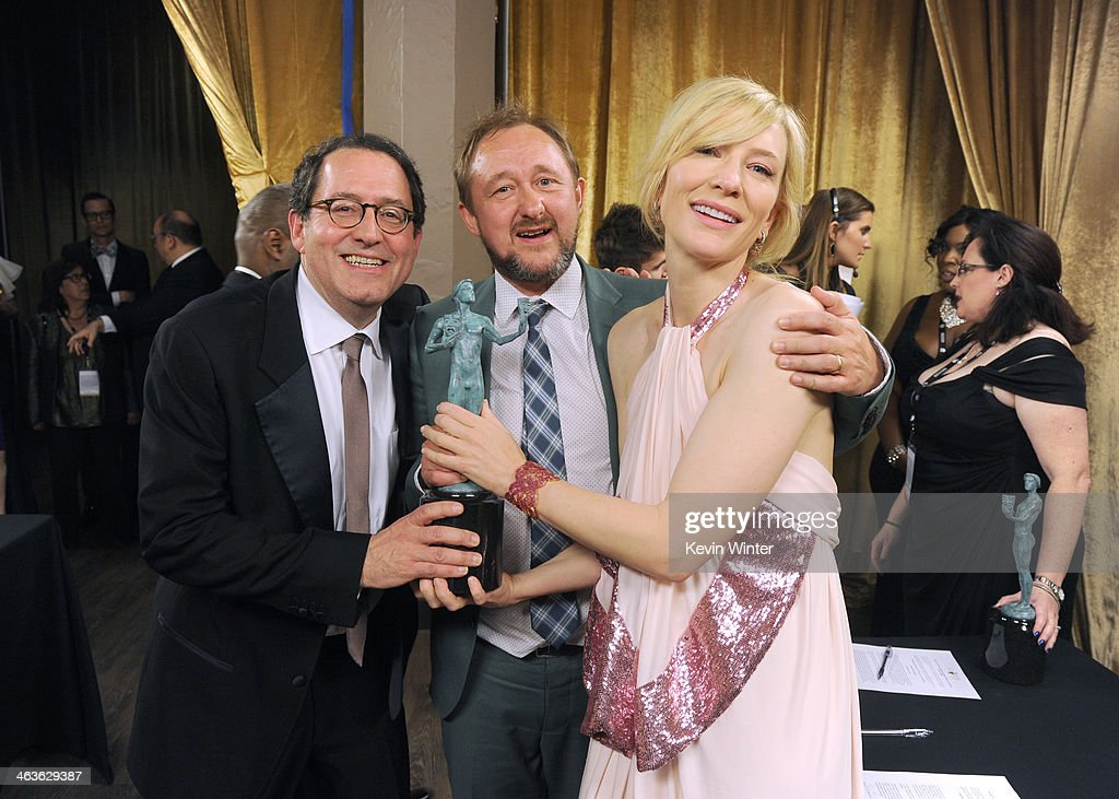20th Annual Screen Actors Guild Awards - Backstage : News Photo