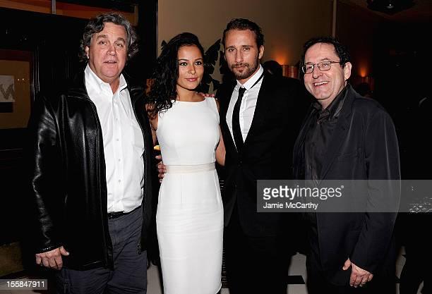 CoPresident of Sony Pictures Classics Tom BernardAlexandra Schouteden Matthias Schoenaerts and CoPresident of Sony Pictures Classics Michael Barker...