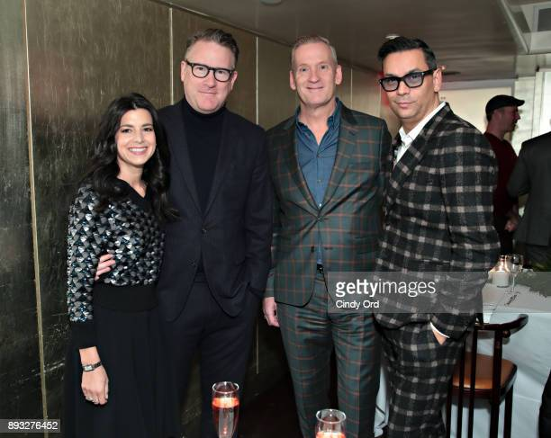 CoPresident The Outnet Shira Suveyke Designer Todd Snyder Regional Manager Retail at Paul Smith Mark Haldeman and VP Creative and Fashion Director...