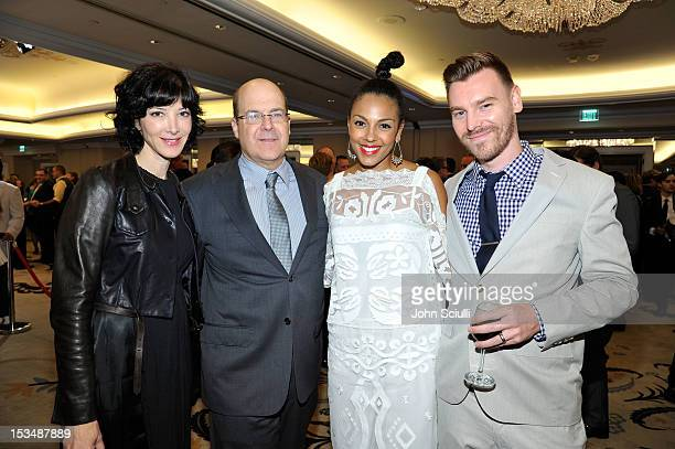 CoPresident USA Network Jeff Wachtel actress Marsha Thomason Craig Sykes and guest attend the 8th Annual GLSEN Respect Awards held at Beverly Hills...