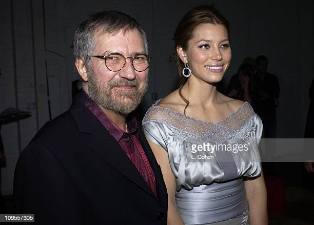 CoProducer and Writer of original screenplay Tobe Hooper and Jessica Biel