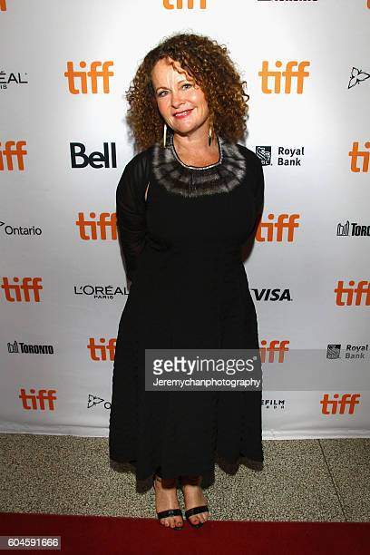 Coproducer Ellen Hamilton attends the 'Two Lovers And A Bear' Premiere held at The Elgin Theatre during the Toronto International Film Festival on...