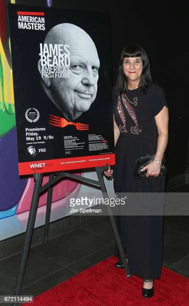 """Co-producer Kathleen Squires and director Beth Federici attend the """"James Beard: America's First Foodie"""" NYC premiere at iPic Fulton Market on April..."""