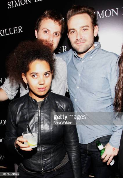 Coproducer Melody Roscher and guests attend Bing Presents The Simon Killer Cast Cocktail Party At The Bing Bar during the Sundance Film Festival on...