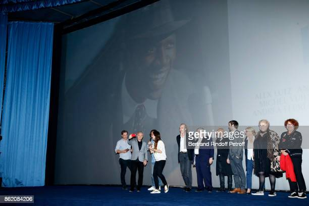 Co-producer of the movie Marc Missonnier, Stephane Celerier, co-producer of the movie Olivier Delbosc, actors of the movie Audrey Dana, Michel...