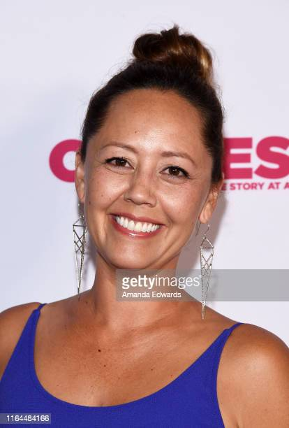Coproducer Rachel Holbrook arrives at the 2019 Outfest Los Angeles LGBTQ Film Festival Screening of Gay Chrous Deep South at the Ford Theatre on July...