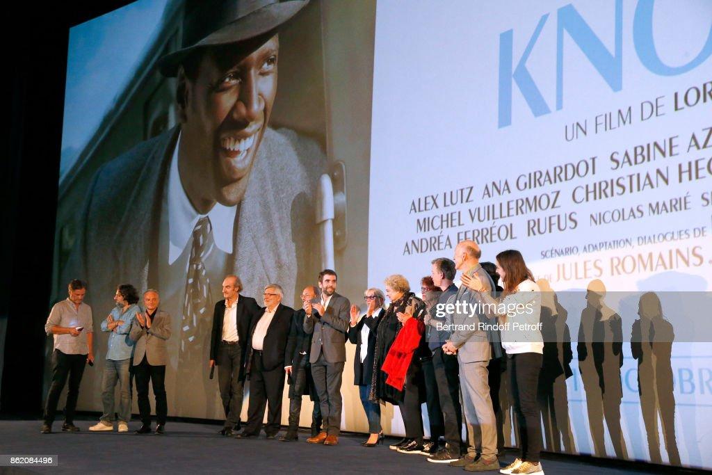 """""""Knock"""" Paris Premiere At UGC Normandie"""