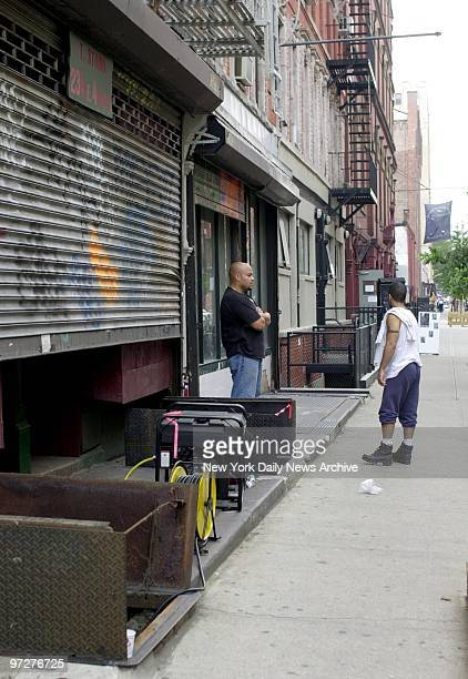 Cops are searching for missing boy Etan Patz at 234 East 4th Street who was believed killed and buried in basement of building