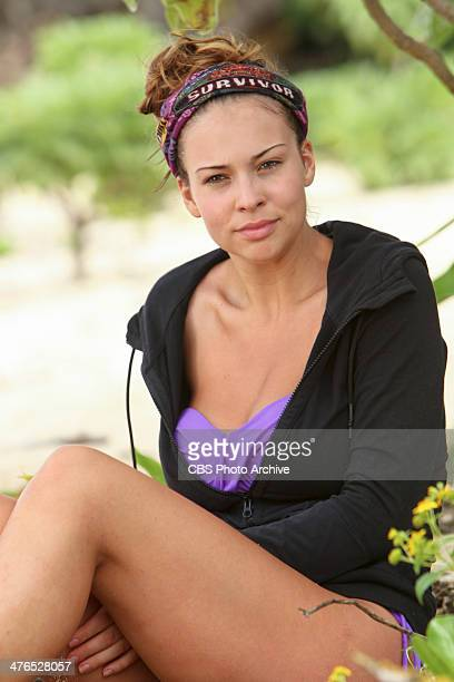 CopsRUs Morgan McLeod of the Beauty Tribe during the second episode of SURVIVOR CAGAYAN Wednesday March 5 on the CBS Television Network