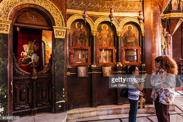 coptic cairo - dafos stock photos and pictures