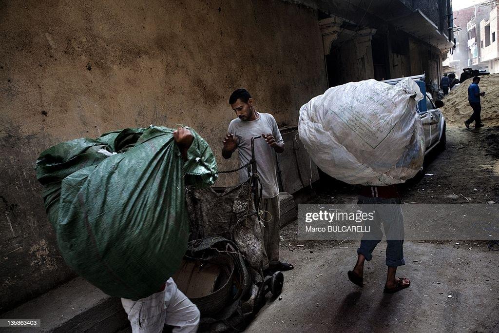 Zabaleen, Garbage Men Of Cairo : News Photo