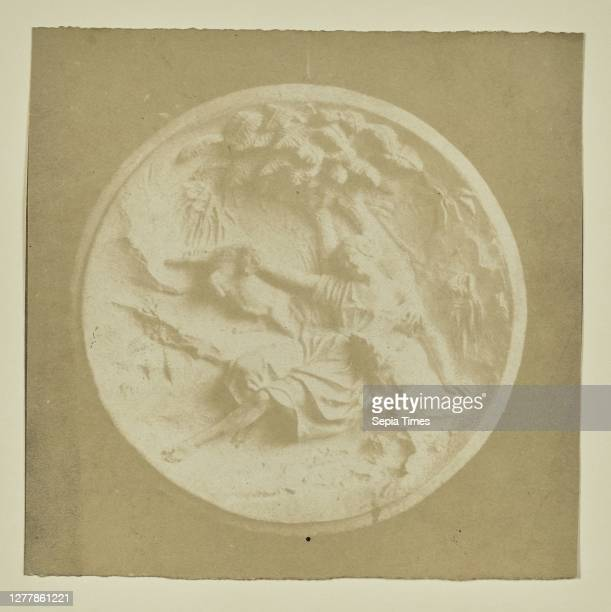 Copy of a Bas Relief; Hippolyte Bayard ; about 1840 - 1849; Salted paper print; 9 x 9 cm .