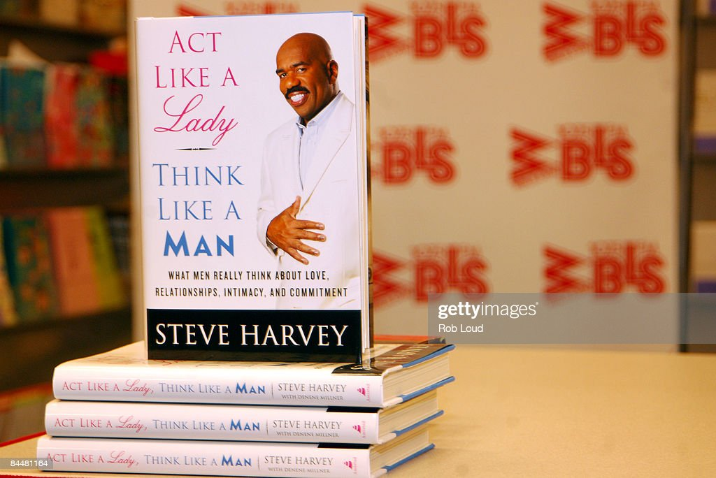 Steve harvey act like a woman think like a man