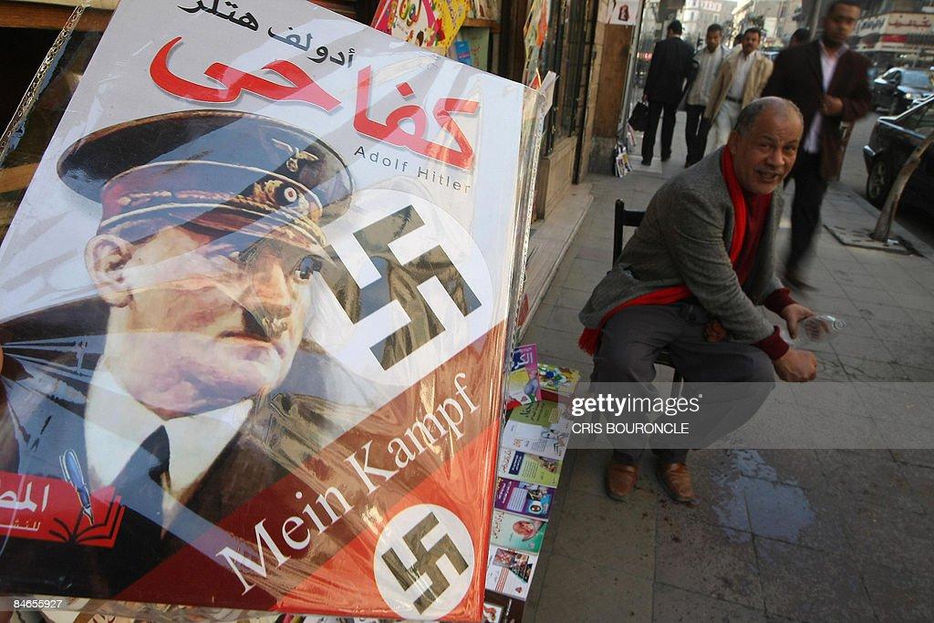 "A copy of Adolf Hitler's ""Mein Kampf"" (M : News Photo"