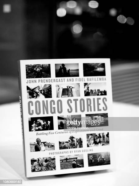 A copy of 'Congo Stories' at the discussion and signing for 'Congo Stories' at The West Hollywood Library on December 10 2018 in West Hollywood...