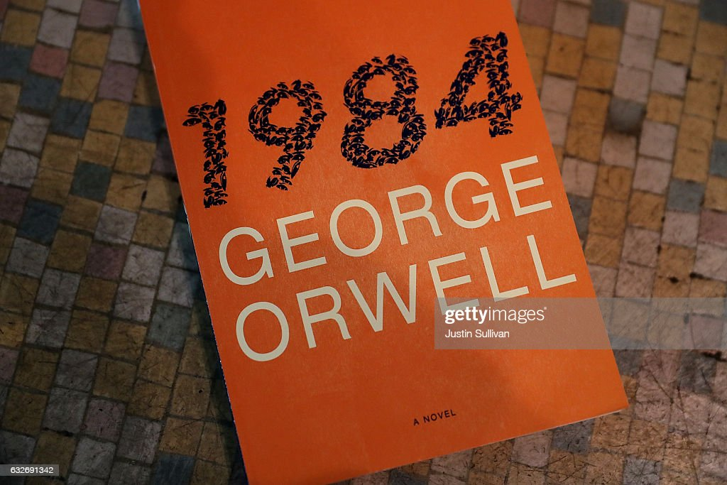 George Orwell's Dystopian Novel 1984 Tops Best Seller LIst, Publisher Orders Additional Printing : News Photo