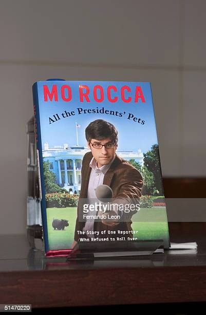 A copy of Mo Rocca's new book All The President's Pets is seen during a signing at Barnes Noble in Union Square October 11 2004 in New York City