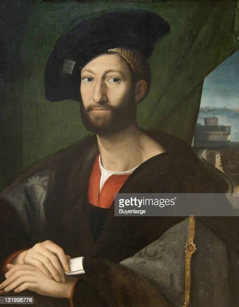 Copy of Raphael's 'Portrait of Giuliano di Medici' 16th century