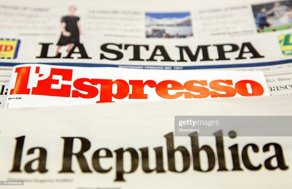 fiat publisher l espresso agree to combine media businessesの写真