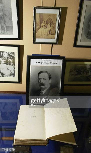 A copy of The Lighter Side Of My Life is displayed at the Crime Museum at New Scotland Yard on July 13 2006 in London The book was donated by Neville...