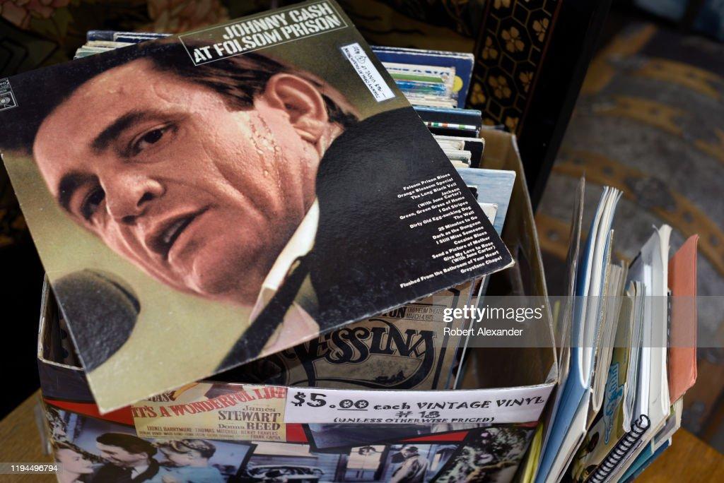Johnny Cash record album : ニュース写真