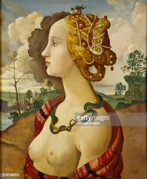 A Copy of the socalled Portrait of Simonetta Vespucci Artist Konstantin Somov