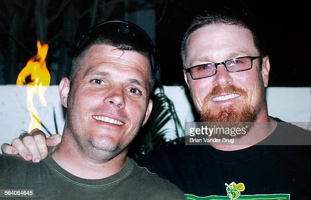 Copy photo of Bill Tessar right and his brother Jon Tessar Tessar lost his only brother in Iraq Sgt Jon Tessar died in a roadside explosion on...