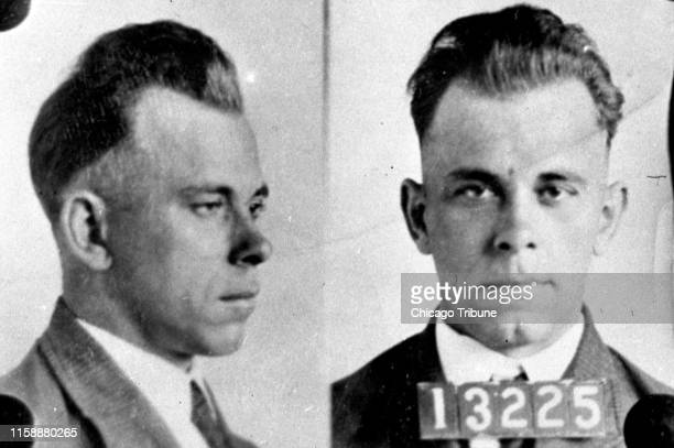 Copy photo of John Dillinger circa December 1933