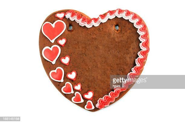 Textfreiraum Liebe Herz Valentinstag gingerbread cookie