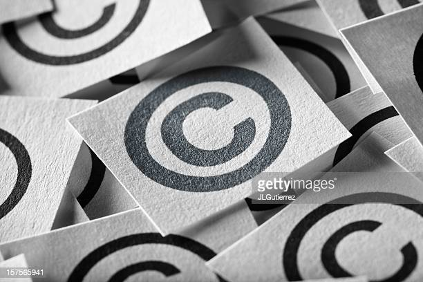 copyright sign - copyright stock photos and pictures