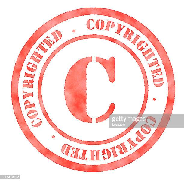 Copyrighted Rubber Stamp
