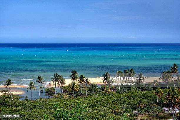 Coqueiros Beach in Trancoso , Bahia , Brazil