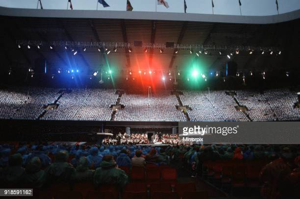 Cor World Choir concert at Cardiff Arms Park 29th May 1993