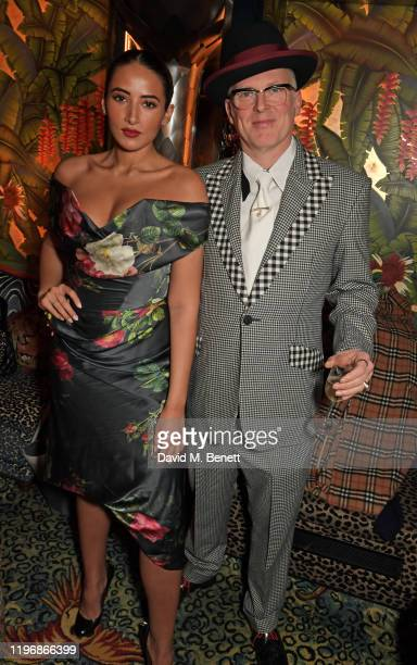 Cora Corre and Joe Corre attend the 'Country Town House Great British Brands' party at Annabel's on January 27 2020 in London England