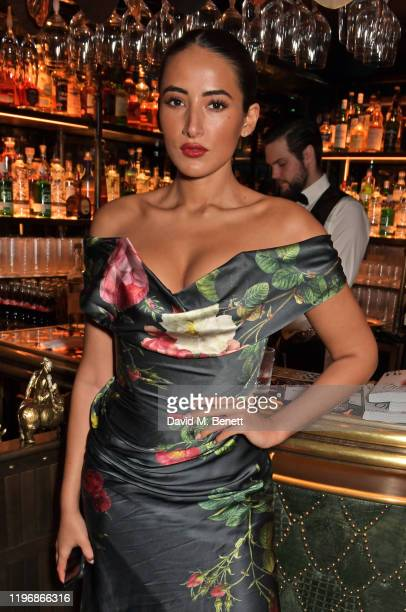 Cora Corre attends the 'Country Town House Great British Brands' party at Annabel's on January 27 2020 in London England