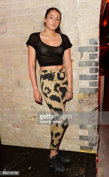 Cora Corre attends the Harvey Nichols presentation of #BEENTRILL# designer collaboration during London Collections Men at The Vaults on June 16 2014...