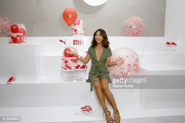 98d5b8ce037 Cora Lee attends PUMA x Hello Kitty Launch Event At Shoe Palace LA on  February 2