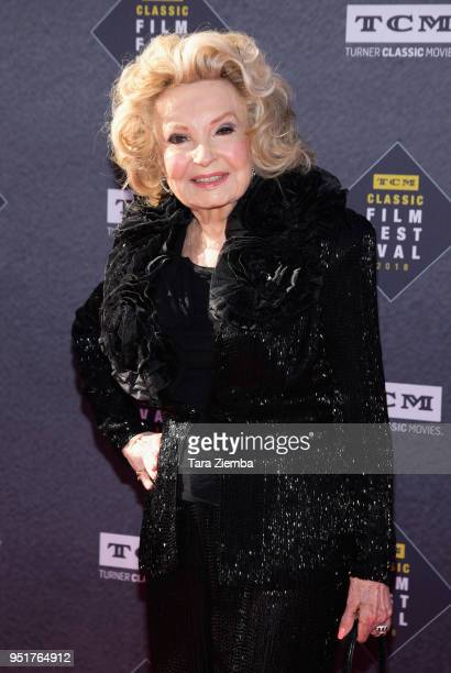 Cora Sue Collins attends the 2018 TCM Classic Film Festival Opening Night Gala 50th Anniversary World Premiere Restoration of 'The Producers' at TCL...
