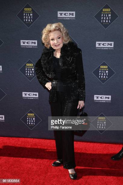 Cora Sue Collins attends the 2018 TCM Classic Film Festival Opening Night Gala 50th Anniversary World Premiere Restoration of The Producers at TCL...