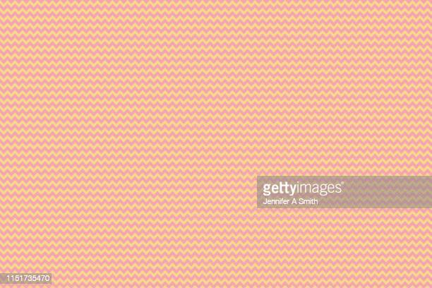 coral and yellow chevron design - couleur corail photos et images de collection