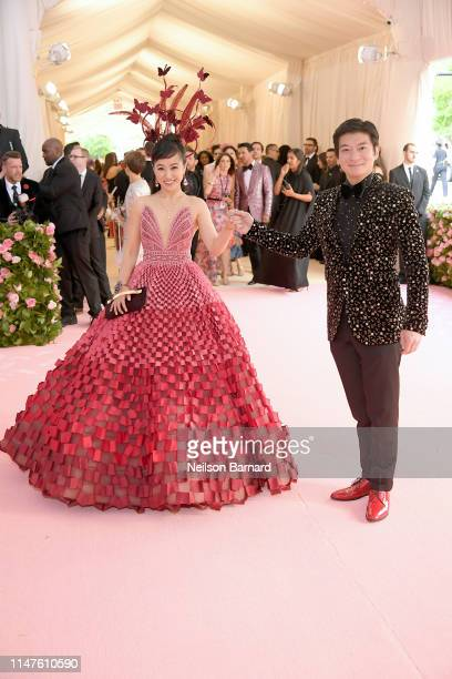 Coral Chung and Andrew Chung attend The 2019 Met Gala Celebrating Camp: Notes on Fashion at Metropolitan Museum of Art on May 06, 2019 in New York...