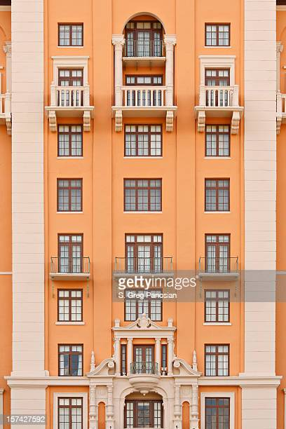 coral gables architecture - coral gables stock pictures, royalty-free photos & images