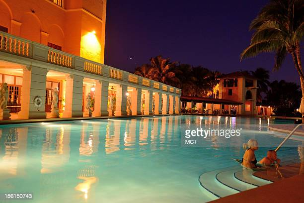 Coral Gables the Biltmore Hotel has recently undergone a fine renovation including the Lshaped swimming pool which is the largest in the continental...