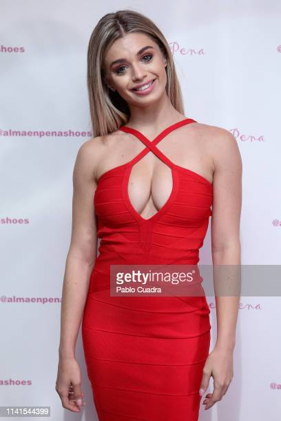 Coral Gonzalez attends the concert of Nancys Rubias at Barcelo Theater on April 09 2019 in Madrid Spain