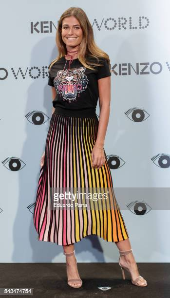 Coral Simanovich attends the 'Kenzo summer party' photocall at Royal Theatre on September 6 2017 in Madrid Spain