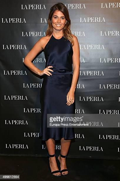 Coral Simanovich attends the 'La Perla' store opening at Palau Sant Jordi on November 26 2015 in Madrid Spain